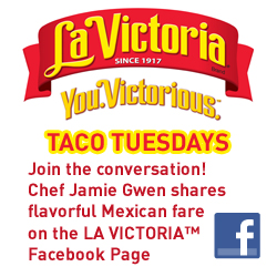 Join Chef Jamie on La Victoria Facebook