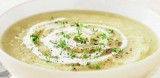 APPLE and PARSNIP SOUP with CALVADOS CREAM