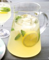 A PITCHER of SPIKED BASIL LEMONADE