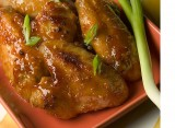 SPICY GINGER & ORANGE GLAZED CHICKEN WINGS