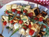 GRILLED CAPRESE SALAD SKEWERS