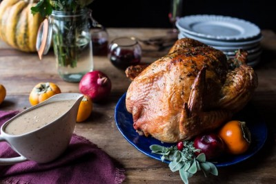 FLAT-OUT HERB & BUTTER BASTED TURKEY
