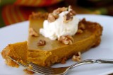 TRIPLE GINGER PUMPKIN TART