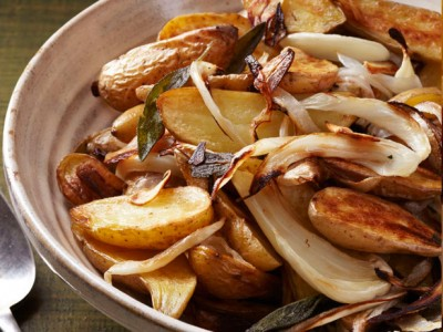 ROASTED FENNEL & POTATOES